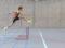 Tests d'athlétisme: 5.1 Course de haies alternée – Niveau 5 (U14/U16)