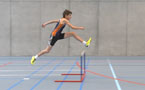 À l'article: Tests d'athlétisme: 5.1 Course de haies alternée – Niveau 5 (U14/U16)