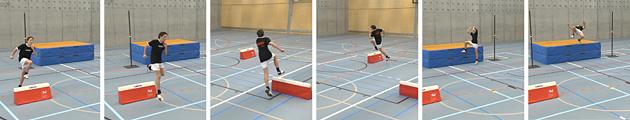 Leichtathletik – Tests: 5.2 Hochsprungkreis – Niveau 5 (U14/U16)