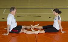 Muscles de la hanche (adducteurs) – Plus difficile