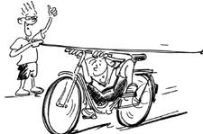 J+S-Kids – Cyclisme: Leçon 8 «Dextérité et sang-froid»