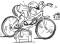 J+S-Kids – Cyclisme: Leçon 4 «Dextérité, mobilité, obstacles»