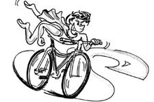 J+S-Kids – Cyclisme: Leçon 9 «Avec sûreté dans le trafic routier»
