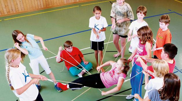 Flirten im sportunterricht