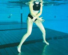 Fitness in acqua – Forza: Burattino