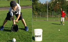 À l'article: J+S-Kids – Baseball: Leçon 5 «Fielding/Défense»