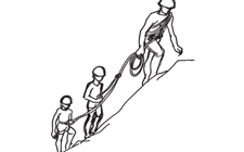 J+S-Kids – Sports de montagne: Leçon 10 «Excursion sur une arête»