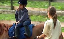 G+S-Kids – Sport equestri: Lezione 3 «Esercizi al passo e saltellare»