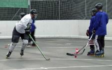 J+S-Kids – Inlinehockey: Lektion 3 «Einführung Inlinehockey»