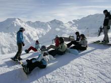 10/2011: Kids auf Ski und Snowboard
