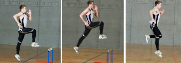 Leichtathletik – Grundlagen: Laufspruenge