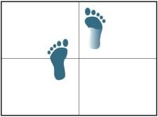 Zeichnung: Schritte