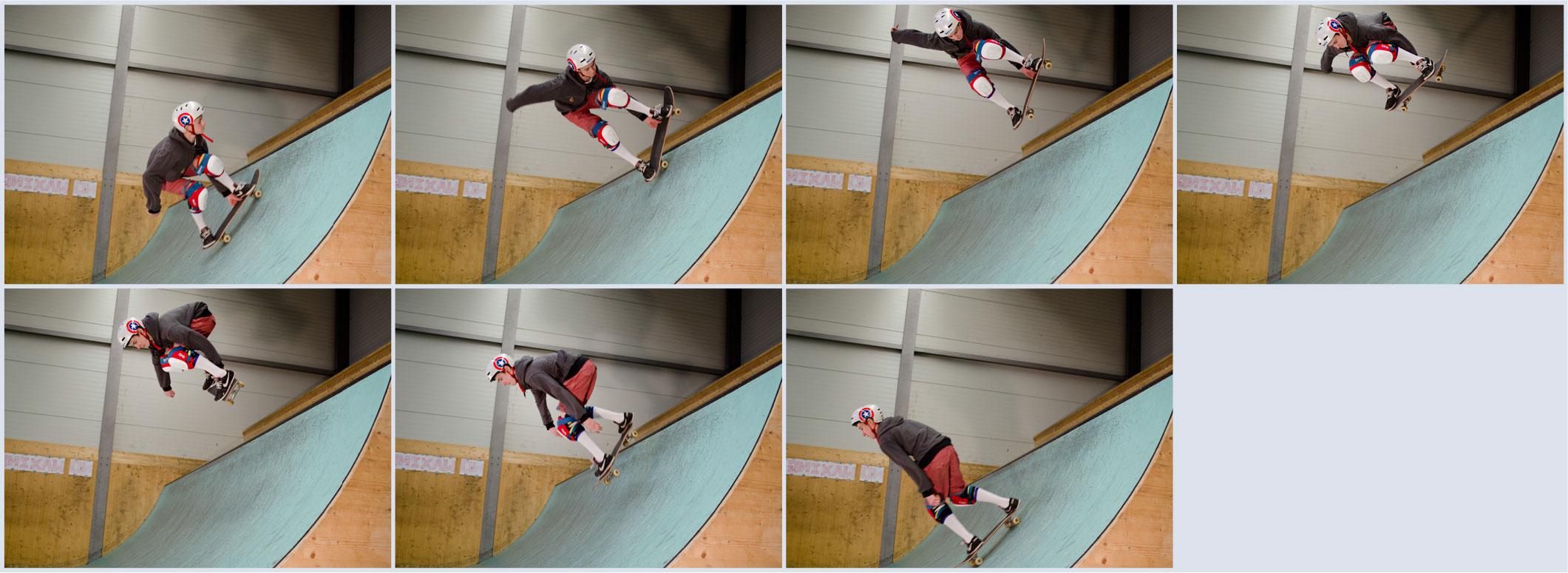 skateboard springen lernen