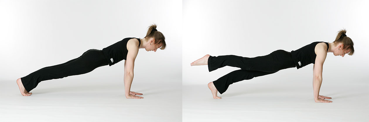 Pilates Leg Pull Front