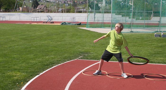 Athlétisme: Découvrir d'autres lancers
