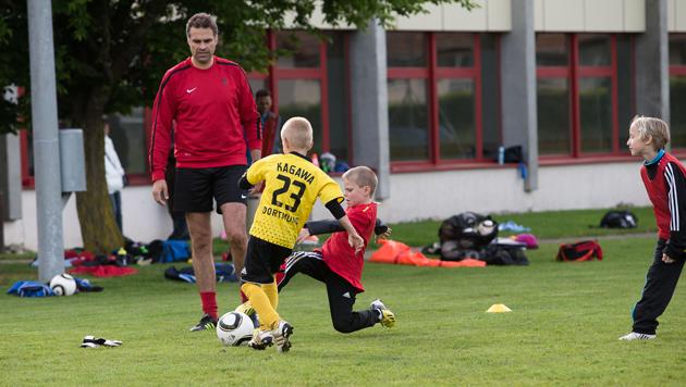 Calcio Di Calcio Pallavolo Allenatore Di Sport Pratica Di Formazione Di