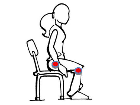 Perception corporelle tenue du corps tenue assise for Comment dessiner une chaise