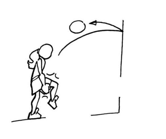 Spielen mit ball werfen fangen und