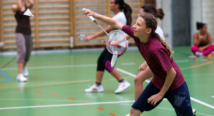 Badminton – Schülerturnier: «It's Shuttle Time!»