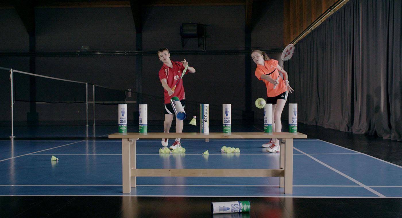 Badminton Unterricht