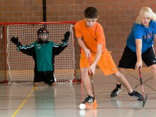 12/2013: Unihockey