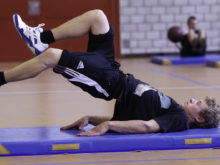 Konditions-Circuit-Training: Programm nach Mass