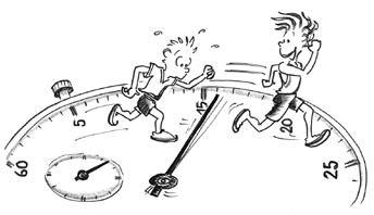 Ev nement multisports course pied tempo sous contr le - Dessin de course a pied ...