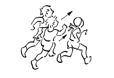 Jouer jeux de r action course poursuite - Dessin de course a pied ...