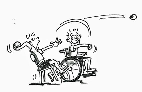 Sport und handicap kompensation werfen plus