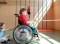 Sport et handicap – Compensation: Jardin d'escalade