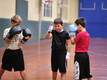 12/2014: Light-Contact Boxing