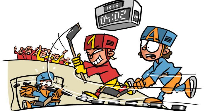 Imparare l'hockey su ghiaccio: Il potere del gioco