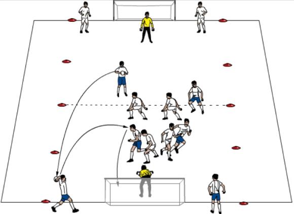 kopf fussball spiel