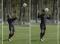 Fussball – Kopfballtraining: Technik – Kopfball aus Stand mit Drehung (Zuwurf)