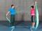 Sensomotorisches Training – Lage- und Bewegungssinn: Instabile Unterlage 2 D – Über Kreuz