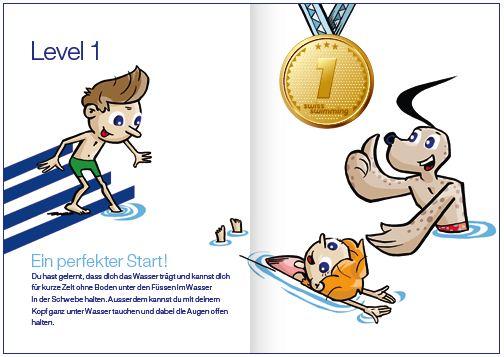 Schwimmen – Swiss Swimming Kids Ausbildung: Basic – Level ...