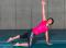 Sensomotorisches Training – Lage- und Bewegungssinn: Kleinere Unterstützungsfläche – Arm- und Bein-Lift