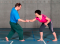 Sensomotorisches Training – Lage- und Bewegungssinn: Kleinere Unterstützungsfläche – Steirisches Ringen