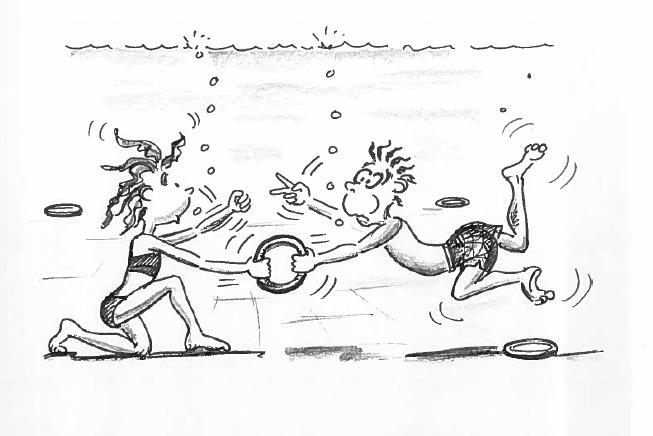Schwimmen Lernen Spiele Im Wasser Ringe Tauchen Mobilesportch