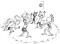 Beach volley – Riscaldamento: Palla sempre in gioco