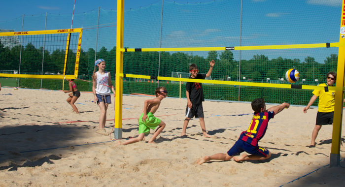 Beach-volley – Jeu «deux contre deux»: Construction du jeu