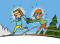 Ski de fond: Positionner – Jeux: Touché-plié!