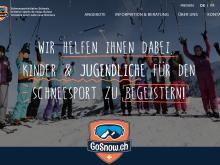 GoSnow.ch: Réaliser des camps de sports de neige