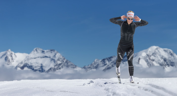 Skilanglauf: Einstieg und Ausklang