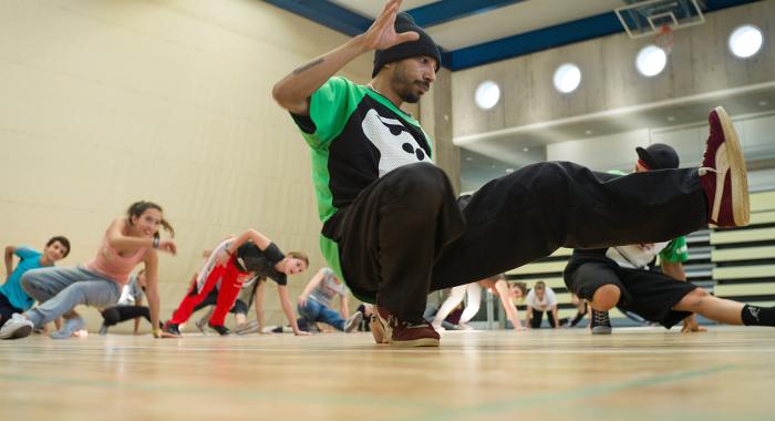 Freestylesport – Breakdance: Kreativität und Rhythmus