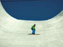 Sport freestyle – Freeski: Halfpipe – Push