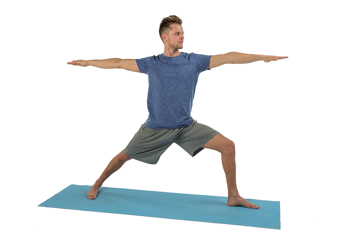 Yoga – Im Stehen (P1): Der Krieger II » mobilesport.ch