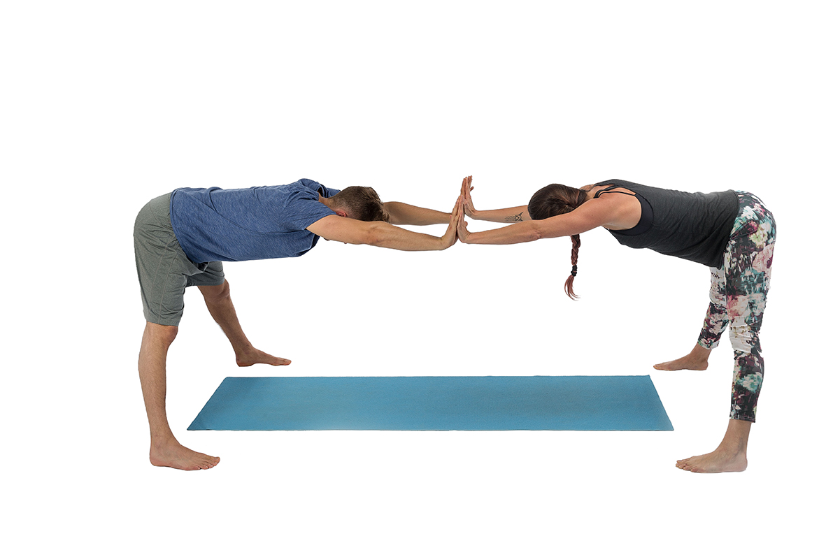 abbastanza Yoga – Posizioni in piedi (P1): Piegamento in avanti a gambe  SH55