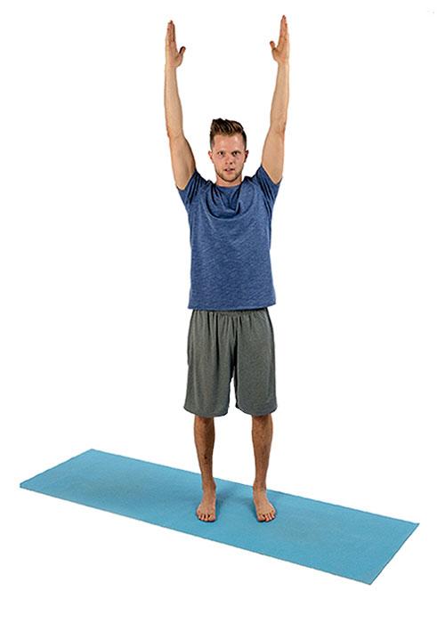 yoga debout p1 montagne. Black Bedroom Furniture Sets. Home Design Ideas