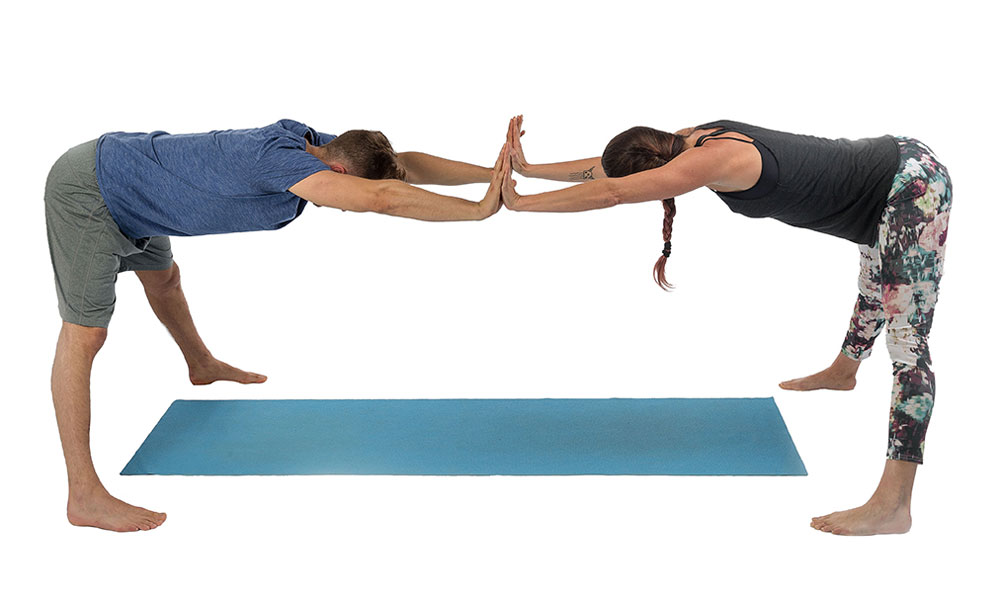 yoga debout p1 flexion avant avec les jambes cart es. Black Bedroom Furniture Sets. Home Design Ideas